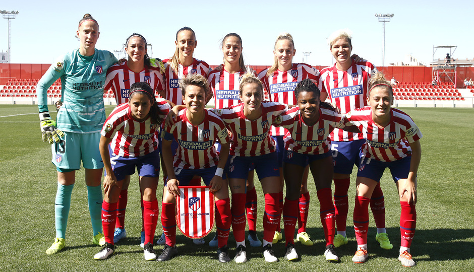 Temporada 19/20 | Atlético de Madrid Femenino - EDF Logroño | Once inicial
