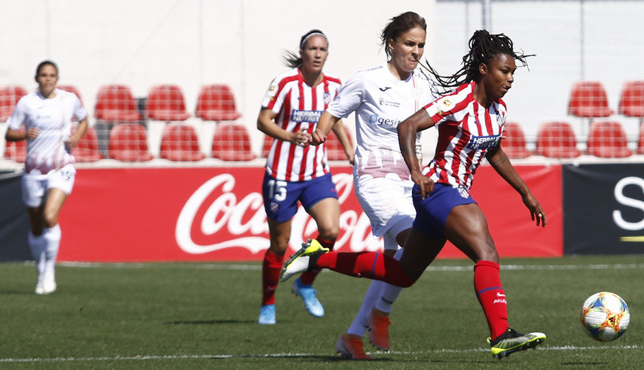 Temporada 19/20 | Atlético de Madrid Femenino - EDF Logroño | Ludmila