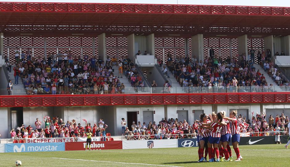 Temporada 19/20 | Atlético de Madrid Femenino - EDF Logroño | Celebración