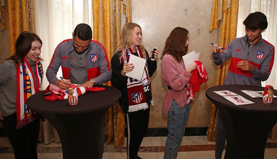 Temp. 19-20 | Meet & Greet en Rusia | Koke