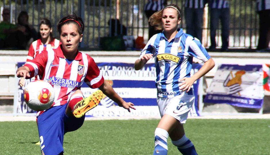Temporada 2013-2014. Atlético de Madrid Féminas-Real Sociedad