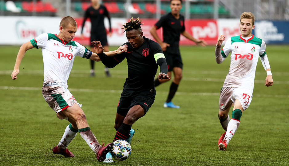 Temp 2019-20 | Youth League | Lokomotiv - Juvenil A | Cedric