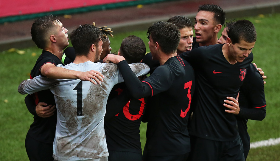 Temp 2019-20 | Youth League | Lokomotiv - Juvenil A | Celebración