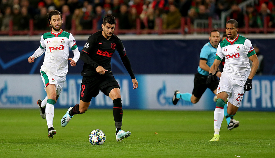 Temp 2019-20 | Champions League | Lokomotiv - Atlético de Madrid | Morata
