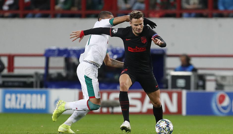 Temp 2019-20 | Champions League | Lokomotiv - Atlético de Madrid | Saúl