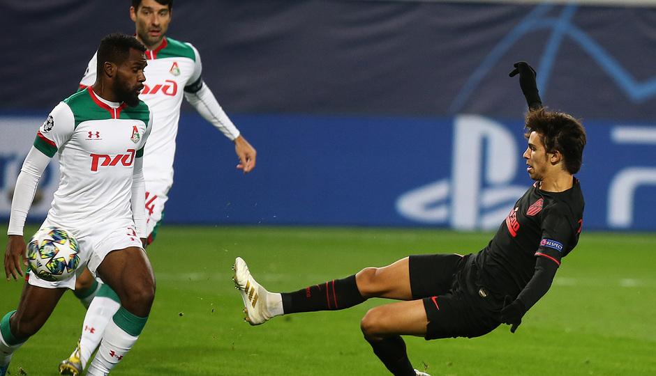 Temp 2019-20 | Champions League | Lokomotiv - Atlético de Madrid | Joao Félix