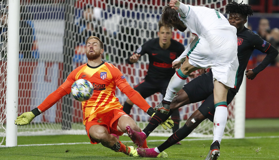 Temp 2019-20 | Champions League | Lokomotiv - Atlético de Madrid | Oblak