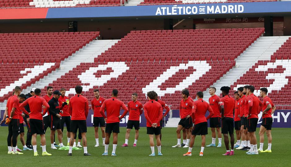 Temporada 19/20 | Entrenamiento del primer equipo en el Wanda Metropolitano |