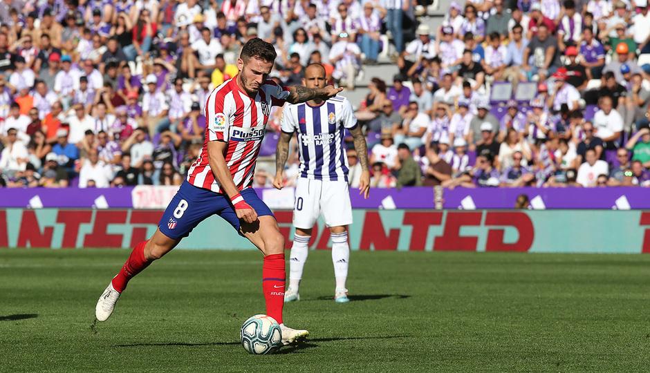 Temp 2019-20 | Real Valladolid - Atlético de Madrid | Saúl