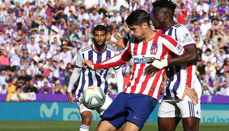 Temp 2019-20 | Real Valladolid - Atlético de Madrid | Morata