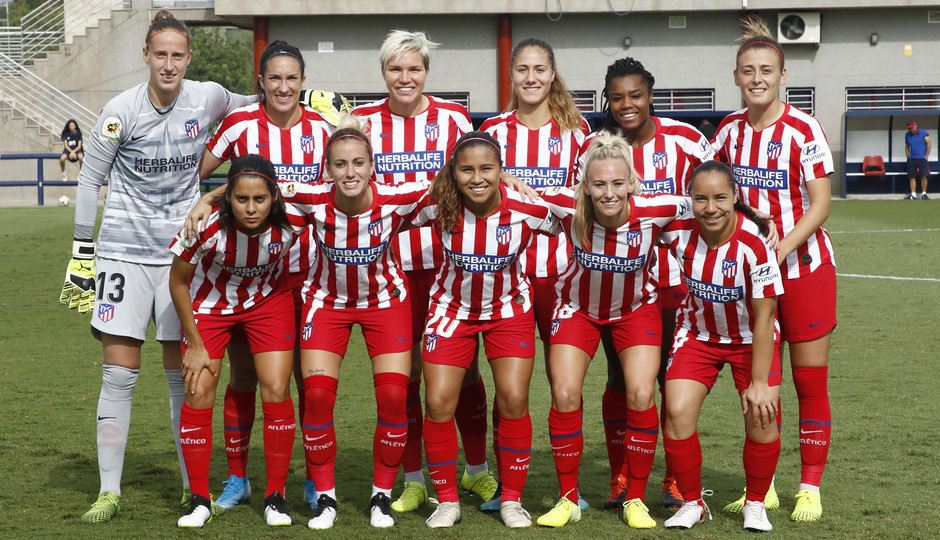 Temporada 19/20 | Atlético de Madrid Femenino | Once
