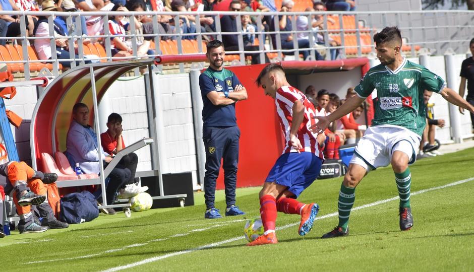 Temporada 19/20   Atlético de Madrid B - Coruxo   Valera
