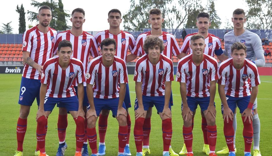 Temporada 19/20   Atlético de Madrid B - Coruxo   Once