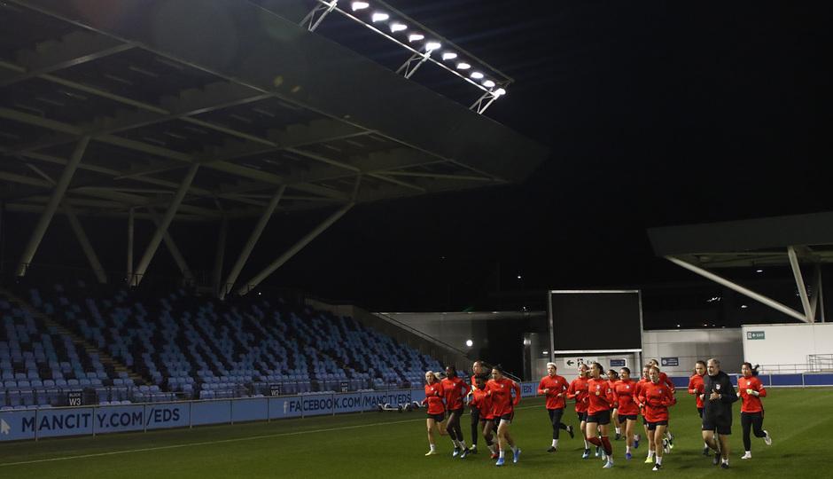 Temp. 19-20 | Entrenamiento en el Academy Stadium | Atlético de Madrid Femenino |