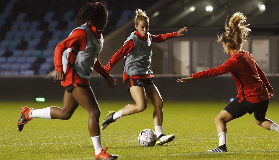 Temp. 19-20 | Entrenamiento en el Academy Stadium | Atlético de Madrid Femenino | Ángela Sosa