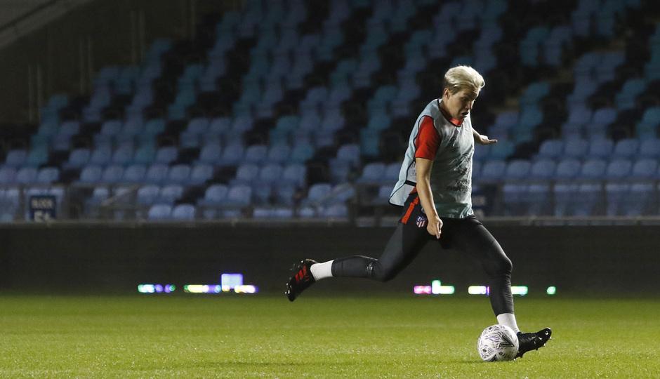 Temp. 19-20 | Entrenamiento en el Academy Stadium | Atlético de Madrid Femenino | Linari