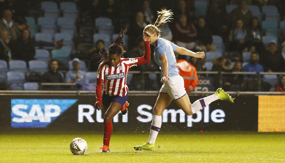Temporada 19/20 | Manchester City - Atlético de Madrid Femenino | Tounkara