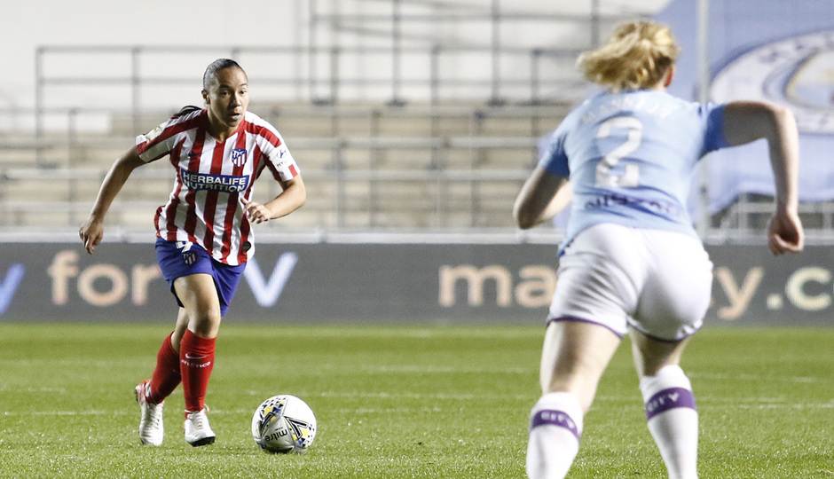 Temporada 19/20 | Manchester City - Atlético de Madrid Femenino | Charlyn