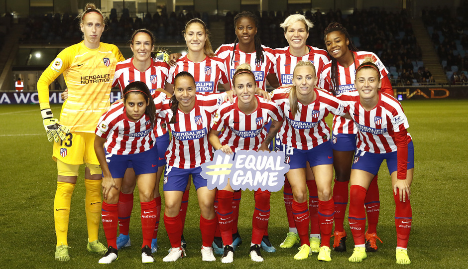 Temporada 19/20 | Manchester City - Atlético de Madrid Femenino | Once