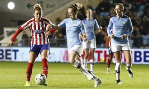Temporada 19/20 | Manchester City - Atlético de Madrid Femenino | Menayo