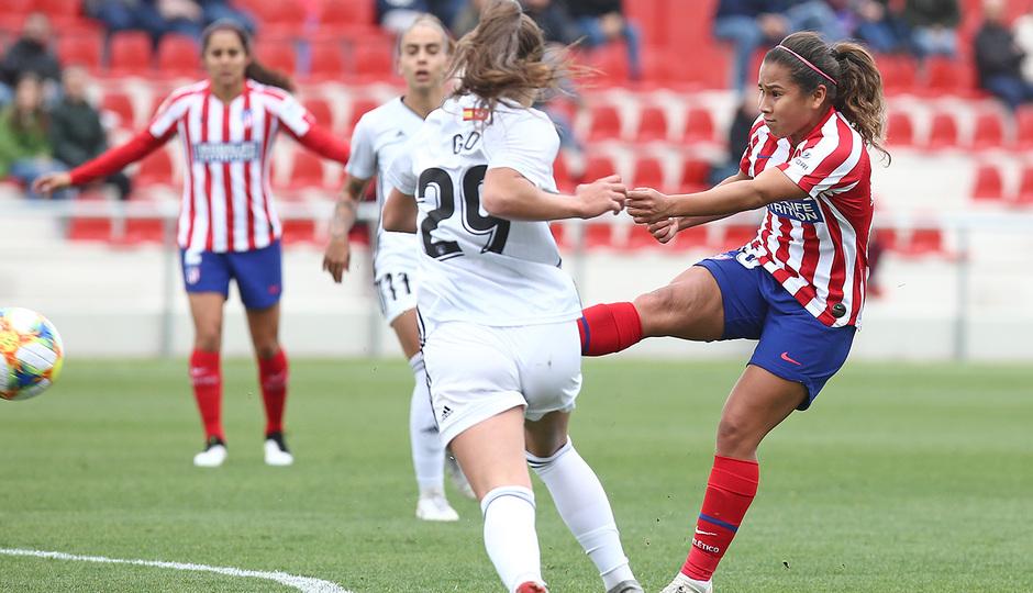 Temp. 19-20 | Atlético de Madrid Femenino - Madrid CFF | Leicy