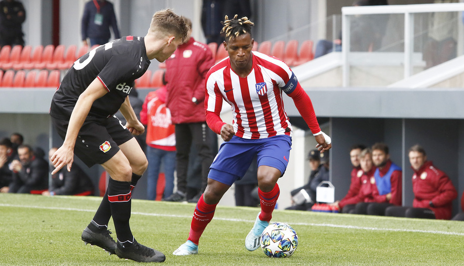 Temp. 19-20 | Youth League | Atlético de Madrid Juvenil A - Bayer Leverkusen | Cedric