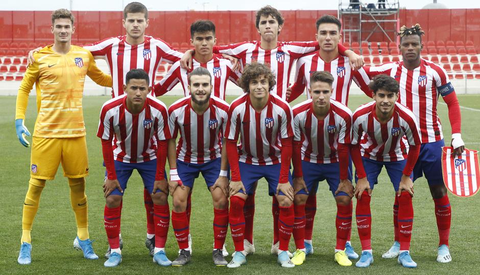 Temp. 19-20 | Youth League | Atlético de Madrid Juvenil A - Bayer Leverkusen | Once