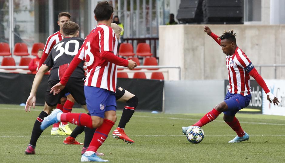 Temp. 19-20 | Youth League | Atlético de Madrid Juvenil A - Bayer Leverkusen | Cedric