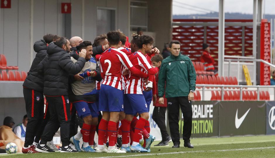 Temp. 19-20 | Youth League | Atlético de Madrid Juvenil A - Bayer Leverkusen | Marco Moreno gol