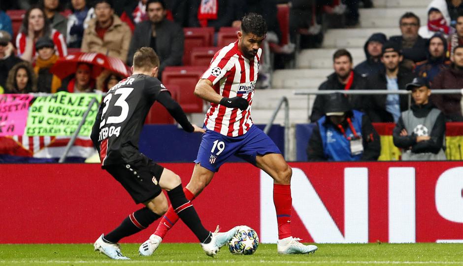 Temp. 19-20 | Atlético de Madrid - Bayer Leverkusen | Diego Costa