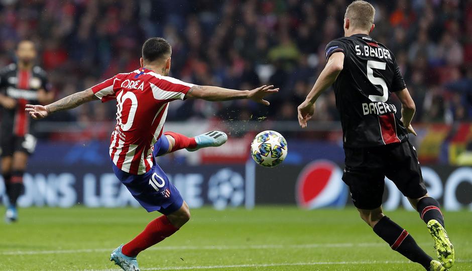 Temp. 19-20 | Atlético de Madrid - Bayer Leverkusen | Correa