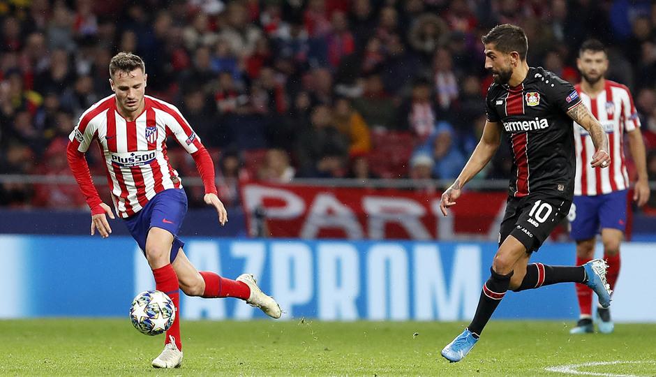 Temp. 19-20 | Atlético de Madrid - Bayer Leverkusen | Saúl