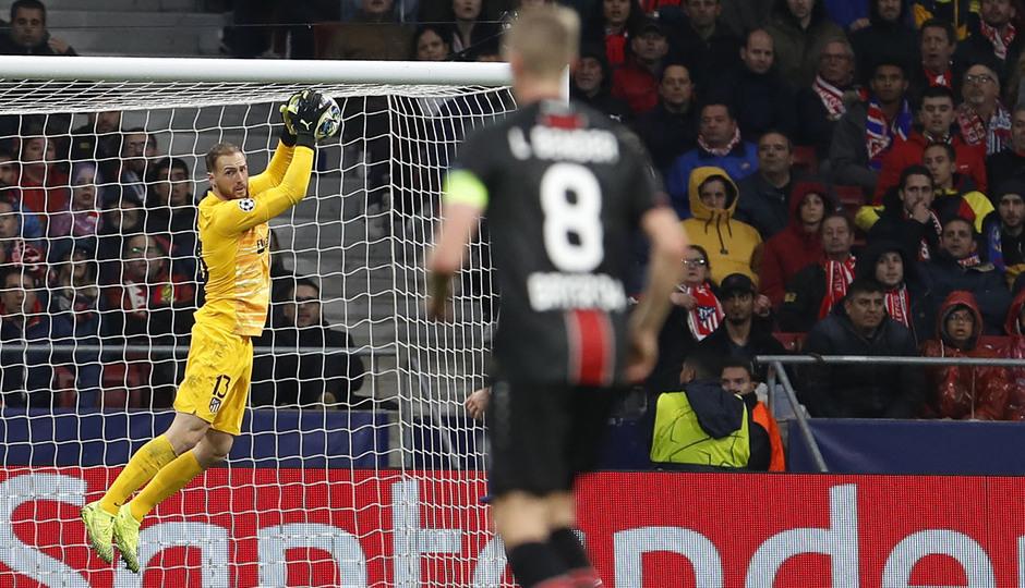 Temp. 19-20 | Atlético de Madrid - Bayer Leverkusen | Oblak