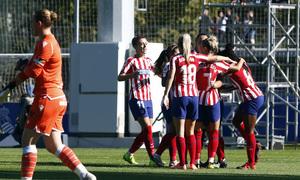 Temp. 19-20 | Real Sociedad - Atlético de Madrid Femenino | Celebración Charlyn