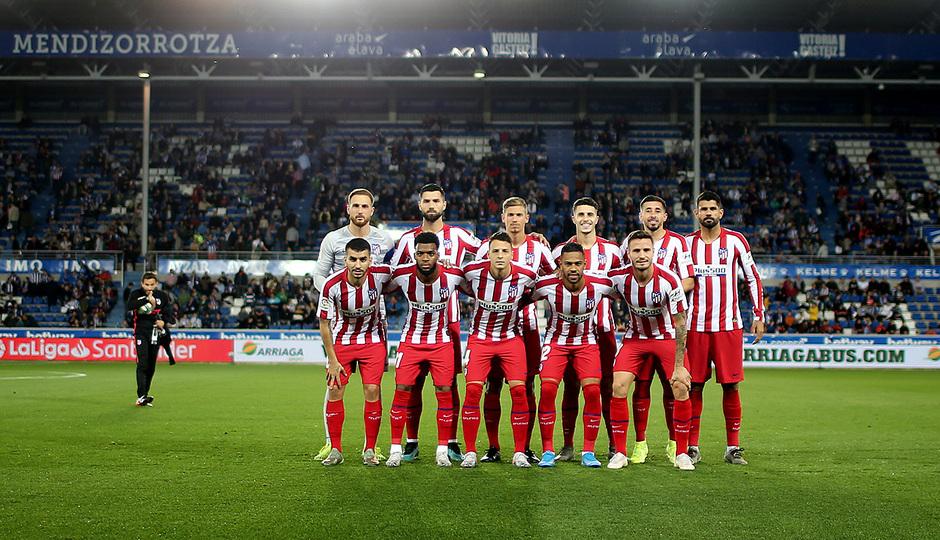 Temp. 19-20   Alavés-Atlético de Madrid   Once