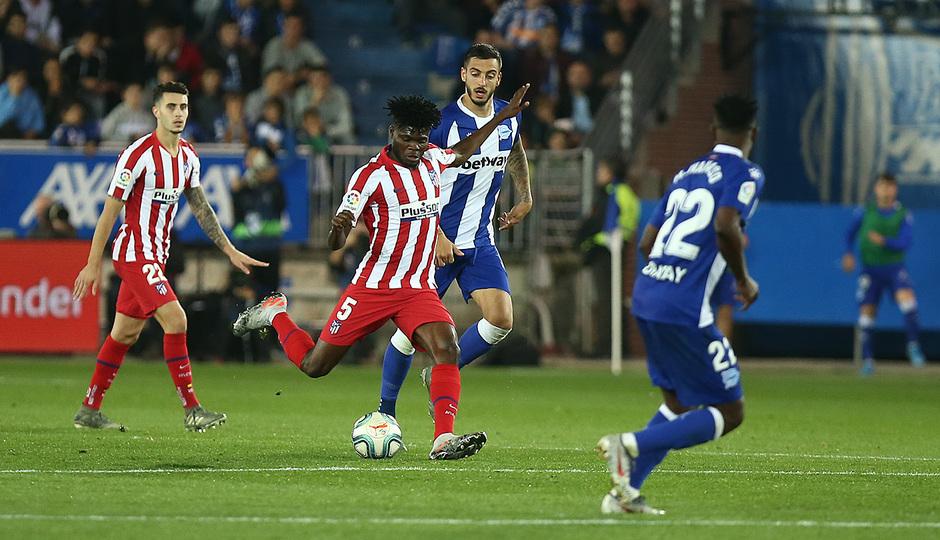 Temp. 19-20   Alavés-Atlético de Madrid   Thomas
