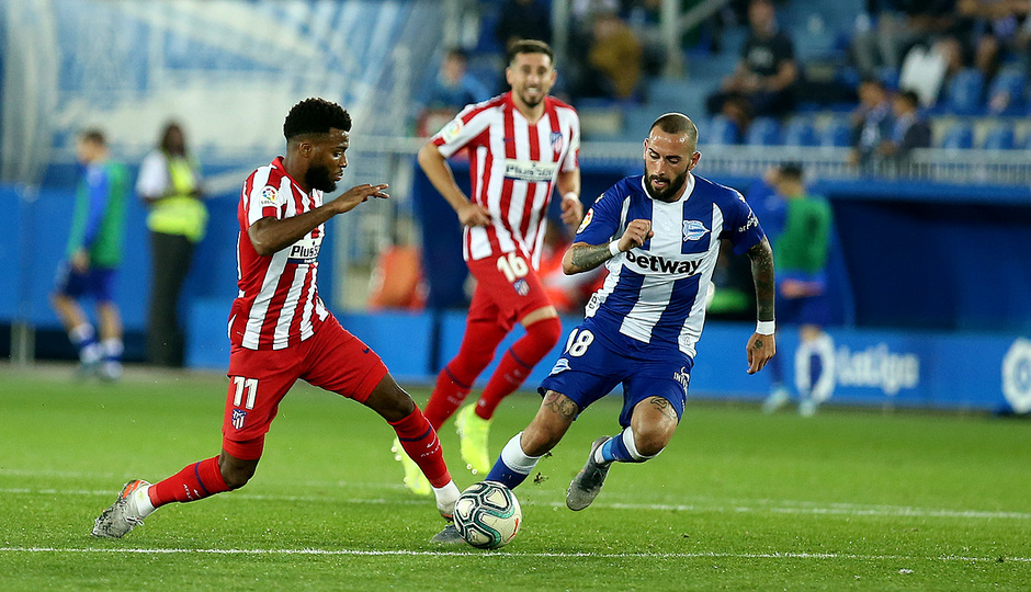 Temp. 19-20   Alavés-Atlético de Madrid   Lemar