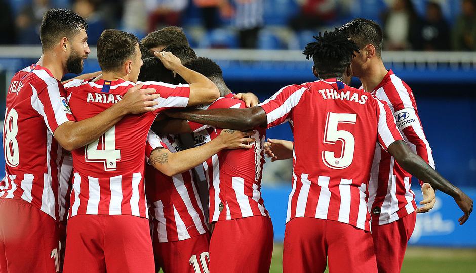 Temp. 19-20   Alavés-Atlético de Madrid   Celebración