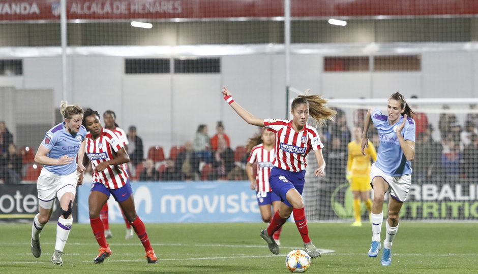 Temp. 19-20 | Atlético de Madrid Femenino-Manchester City | UWCL | Laia