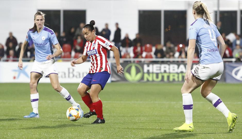 Temp. 19-20 | Atlético de Madrid Femenino-Manchester City | UWCL | Charlyn