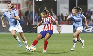 Temp. 19-20 | Atlético de Madrid Femenino-Manchester City | UWCL | Santos