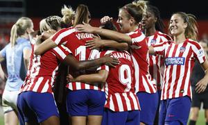 Temp. 19-20 | Atlético de Madrid Femenino-Manchester City | UWCL | Celebración