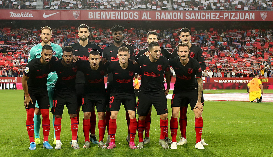Temp. 19-20 | Sevilla - Atlético de Madrid | Once