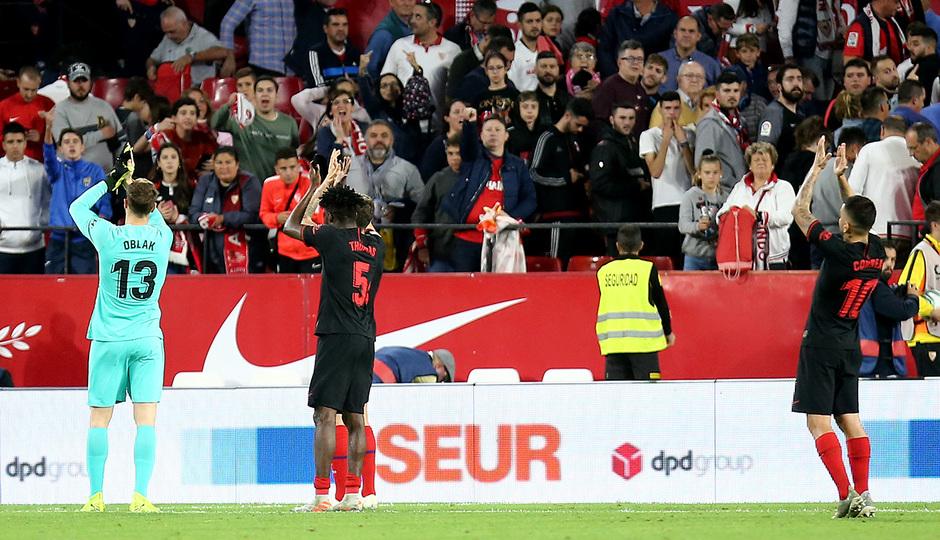 Temp. 19-20 | Sevilla - Atlético de Madrid | Aplausos afición
