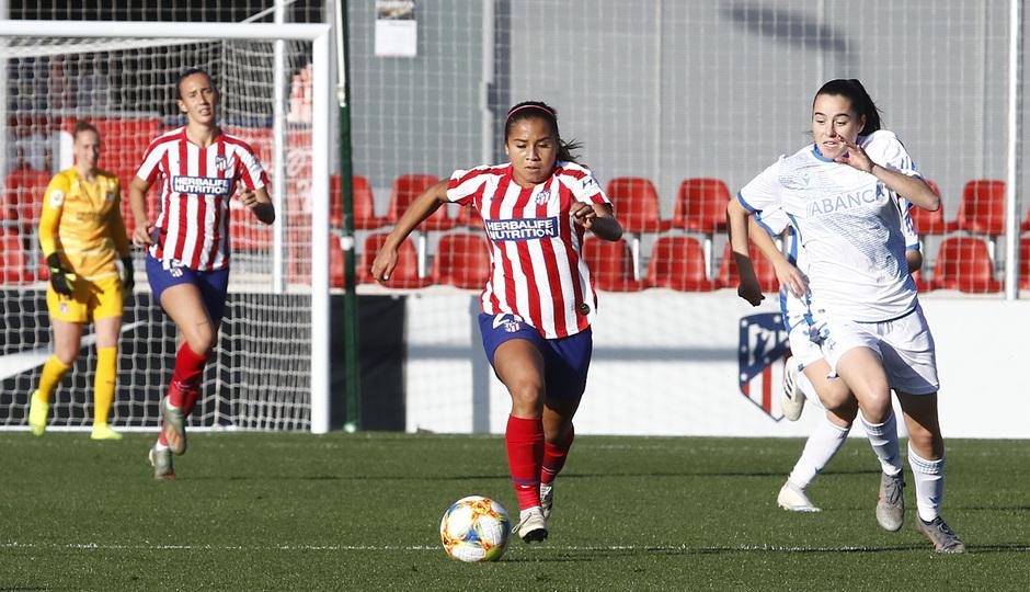 Temporada 19/20   Atlético de Madrid Femenino - Deportivo Abanca   Leicy Santos