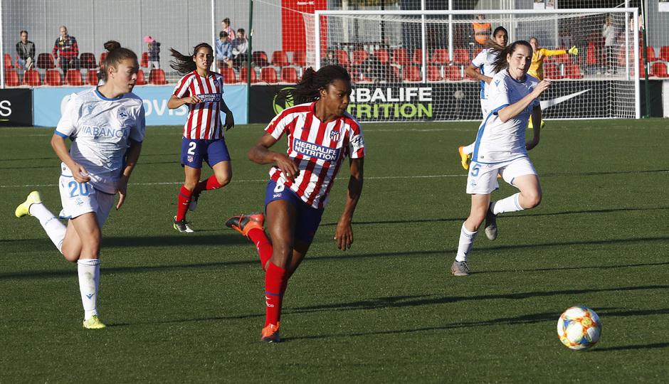 Temporada 19/20   Atlético de Madrid Femenino - Deportivo Abanca   Ludmila