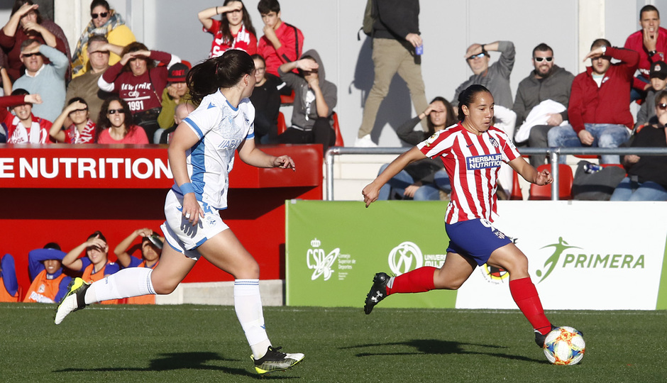 Temporada 19/20   Atlético de Madrid Femenino - Deportivo Abanca   Charlyn