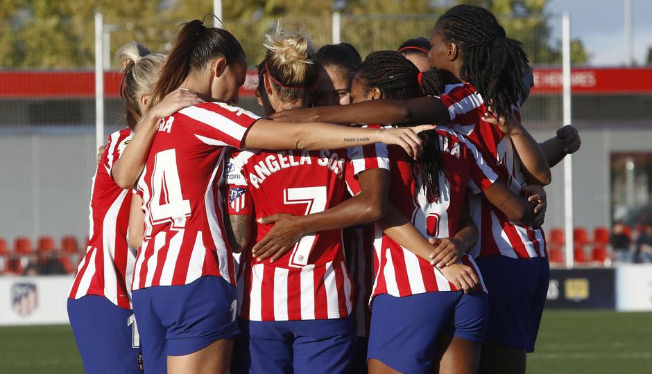 Temporada 19/20 | Atlético de Madrid Femenino - Deportivo Abanca | Celebración