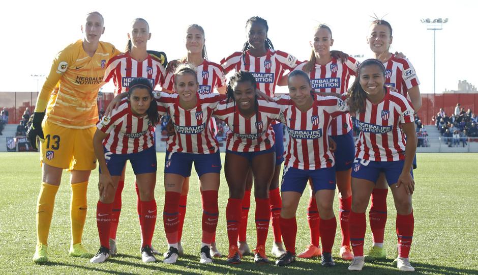 Temporada 19/20   Atlético de Madrid Femenino - Deportivo Abanca   Once