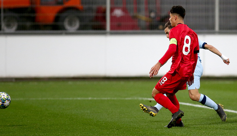 Temp. 19/20 | Youth League | Bayer Leverkusen-Atlético de Madrid Juvenil A | Salido